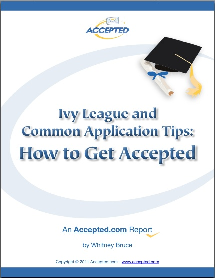 Ivy League and Common App Tips