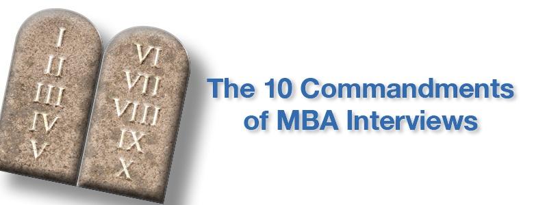 MBA Interview Webinar