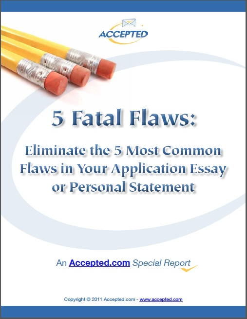 Five Fatal Flaws to Avoid