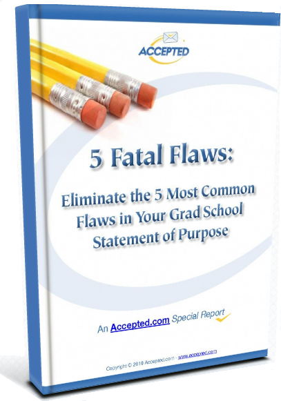 5 Fatal Flaws to Avoid in Your Graduate School Personal Statements
