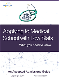 applying to med school with low stats