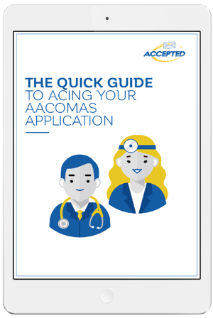 The Quick Guide to Acing Your AACOMAS Application ipad