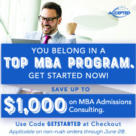 You belong in a top MBA program. Get started now and save!