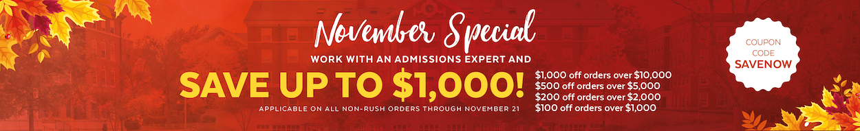 Save up to $1,000 on grad school admissions services! Shop now >>