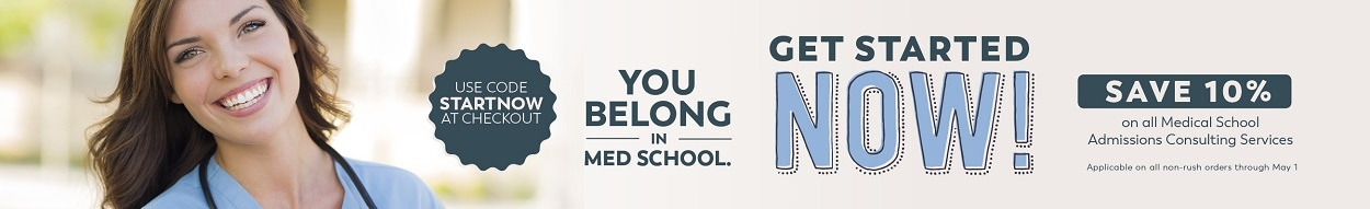 You belong in med school. Shop our services and save 10%!