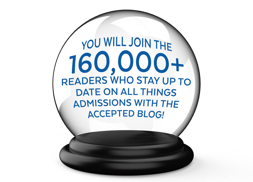 Join 160,000+ readers of the Accepted Admissions Blog!
