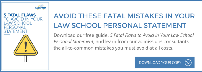 5 Fatal Flaws to avoid in your law school application essay
