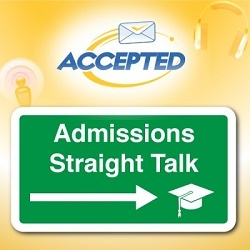 Check out the Admissions Straight Talk Podcast!